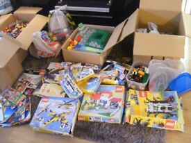 HUGE LEGO COLLECTION SOME OLD UN-USUAL SETS