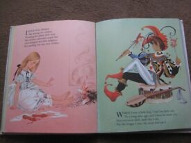 Vintage Dean's Gift Book of Nursery Rhymes in Hardback for ONLY £2.00