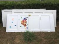 """Free - 3 wooden doors 30""""x77"""""""