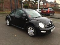 2002 VOLKSWAGEN BEETLE-BARGAIN FOR CHRISTMAST - WAS £1100 / NOW £ 850