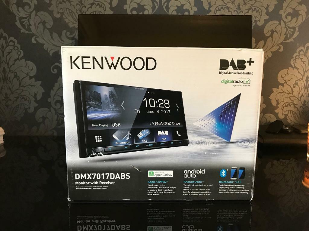 Brand New Kenwood DMX- 7017DABS In Car Radio Double Din Stereo | in  Stratford, London | Gumtree