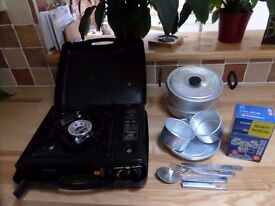 Camping stove, mini stove and cooking gear