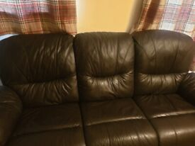 2 + 3 Recliner Leather Sofa