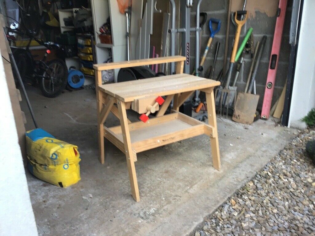 Tremendous Kids Work Tool Bench In Plymouth Devon Gumtree Squirreltailoven Fun Painted Chair Ideas Images Squirreltailovenorg