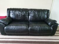 3 + 2 Seater Leather Sofa ( Originally from Scs)