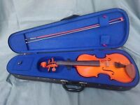 Violin, beginners 3/4 size, perfect condition, full accessories