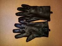 M+S Thinsulate leather gloves (M)