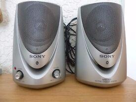 SONY ACTIVE SPEAKERS