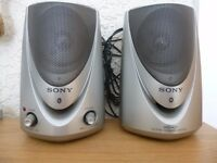 SONY ACTIVE SPEAKERS