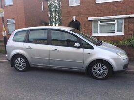 Ford Focus C-max Ghia 2006, FSH, Sony 6 CD changer, heated front screen, electrics