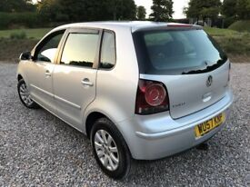 2007 VOLKSWAGEN POLO SE TDI 1.4 LONG MOT F/S/H TOP CONDITION