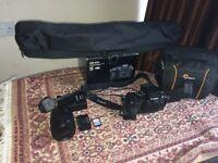 *BARGAIN* LUMIX G7 Mirrorless Digital Camera 4K w/ 12-60mm lens + tripod + camera bag