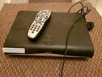 Sky+HD box 250GB for Sale with remote and cable