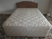 King Size Bed (Silent night) with Headboard