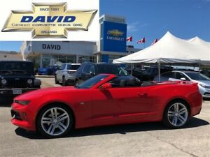 2017 Chevrolet Camaro 1LT RS CONVERTIBLE/REMOTE START/REAR CAM/L
