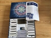 Pre-owned Who wants to be a millionaire boxed game