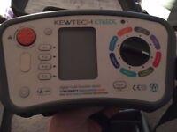 Kewtech digital multifunction tester