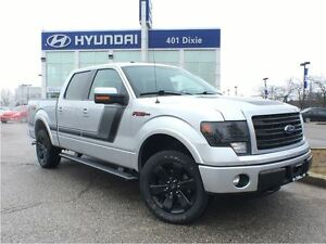 2014 Ford F-150 FX4|4X4|V8|NAVI|LEATHER|BACK-UP CAM|HEATED SEATS