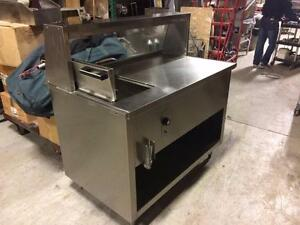 Autoclave a Smoke Meat En Acier Inox / Smoked Meat Steamer Electric 220 volts Stainless Steel