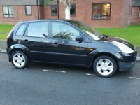 2005 FORD FIESTA 1.4LX AIRCON ALLOYS FSH PANTHER BLACK A1 CONDITION SMALL CHEAP CAR
