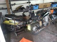 honda pantheon 125cc parts spares sh Swing dylan