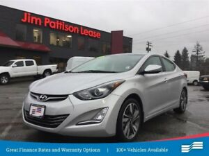 2016 Hyundai Elantra Limited, NAV, leather, roof + more