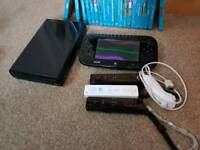 Wii u with 20 games