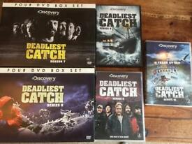 Deadliest catch seasons 6-10 DVD's