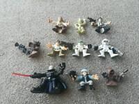 Star wars hero squad figures