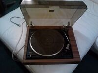 Garrard 125 Sb record deck . Plus 300 singles from 1970s to 90s