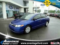 2007 HONDA CIVIC DX-G/Man/Vend Tel Quel/Sold As Is/Ac/Aux/Gr.Ele