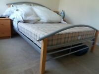 **********DOUBLE BED FRAME IN VERY GOOD & CLEAN CONDITION*************