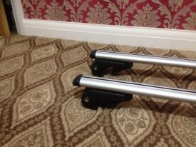 Roof bars fit most estate cars