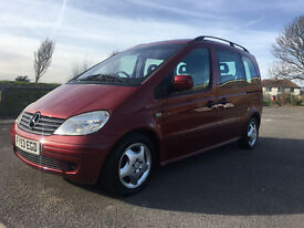 Mercedes-Benz Vaneo 1.7 CDI Ambiente 5dr £2,495 p/x welcome 2003 (53 reg), MPV