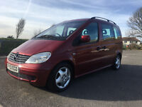 Mercedes-Benz Vaneo 1.7 CDI Ambiente 5dr £2,195 p/x welcome 2003 (53 reg), MPV