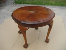 MAHOGANY TABLE ANTIQUE TABLE SOLID WOOD TABLE ROUND TABLE