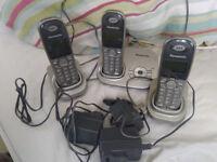 Panasonic home phone 3 hand set