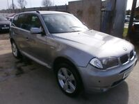 2004 BMW X3 2.0D SPORT 5DOOR SUV, SERVICE HISTORY, LEATHER SEATS, CLEAN LIKE NEW, DRIVES VERY NICE