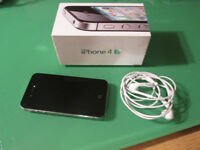 iphone 4s 80gb Very good condition (boxed, with cables and headphones)