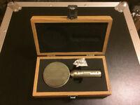 T.Bone RM-700 microphone + original wooden box. As new.