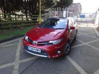 Toyota Auris VVT-I Excel (red) 2014
