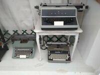 3 Vintage Typewriters