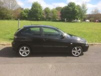 Seat Ibiza 1400 sport black 56 plate, MOT until 27/02/18