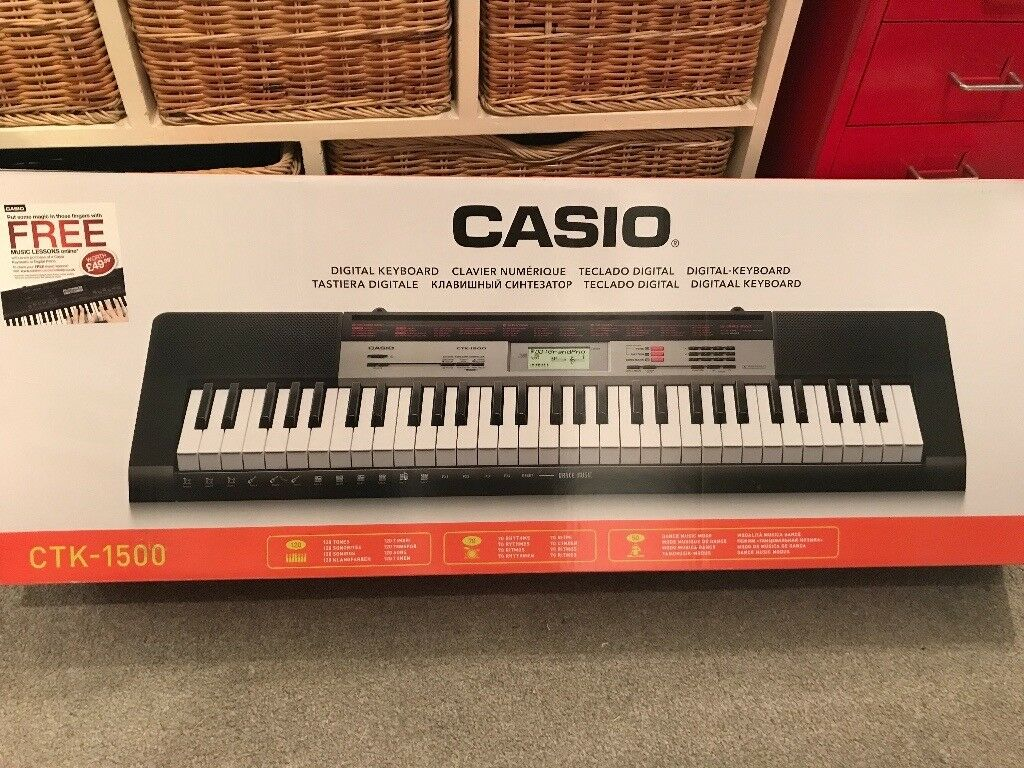 casio ctk 1500 electric keyboard in richmond london gumtree. Black Bedroom Furniture Sets. Home Design Ideas