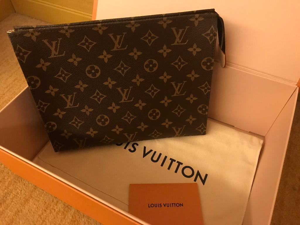 b81c0200cc08 Genuine LOUIS VUITTON TOILETRY POUCH 26 (NEW) SOLDSOLD ...