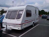 For Sale - Swift Sandymere - 2000 /Harringtons special edition 2 birth caravan year 2000