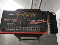Grillplate for oven, grill, bbq