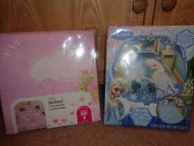 Next and Disney childrens bedsets