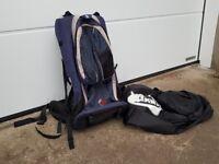Bush Baby Child Carrier, rucksack style
