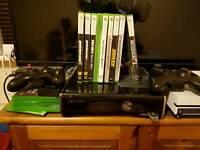 Xbox 360 Slim with extas